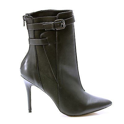 PADORA BY CHARLES BY CHARLES DAVID CB207-K4 ANKLE BOOT BLACK US WOMENS 7.5M -