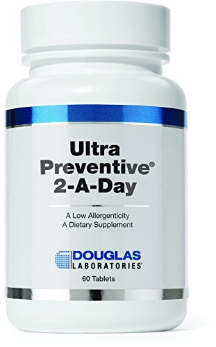 Douglas Laboratories® - Ultra Preventive 2 Daily - Vitamins and Minerals Supplement with Herbal Antioxidant Support* - 60 Tablets
