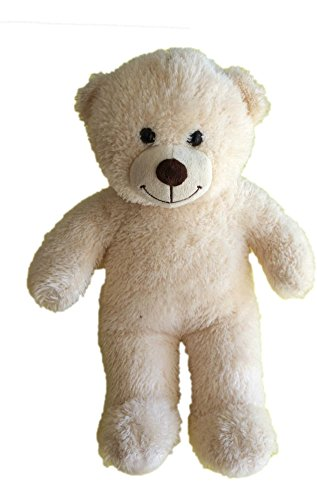 Build a Bear Cream Colored Bear Plush - Fox Build A Bear