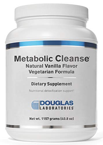 Douglas Laboratories - Metabolic Cleanse Vegetarian Formula - Vegetarian Proteins Plus Nutrients for Detoxification and Metabolic Support* - Natural Vanilla Flavor - 1151 Grams