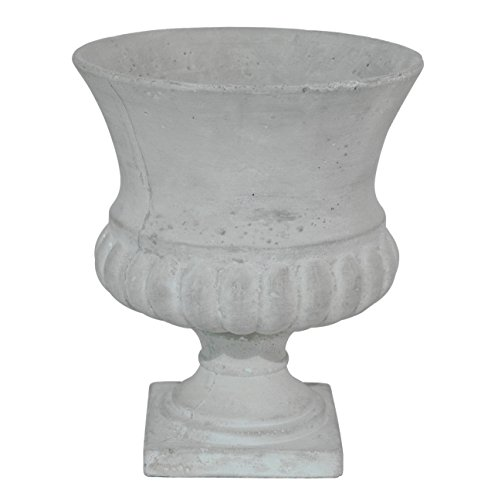 Footed Urn (Three Hands Footed Urn Lrg-Grey)