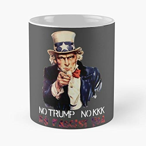 Anti No Trump Kkk 11 Oz Coffee Mugs Best Gift For Father Day