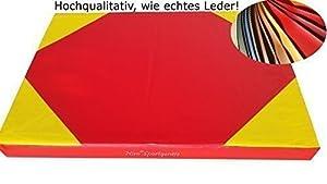 Niro Sportgeräte Turnmatte Weichbodenmatte, Rot, 100 x 70 x 8 cm, TM1