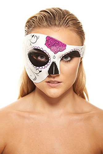 Catrina Day of The Dead Masquerade Mask (Unisex One Size) ()