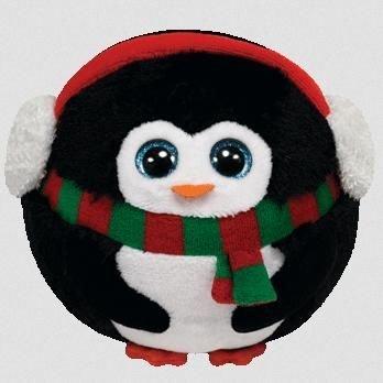 Ty Beanie Ballz Icicles - Penguin (Icicle Stuffed Animal)