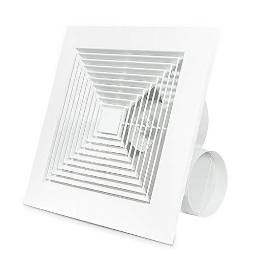- Ventilation fan ZHAOSHUNLI Exhaust Fan Household Ceiling Type Bathroom Kitchen Silent Exhaust Fan Integrated Pipe 10 Inch