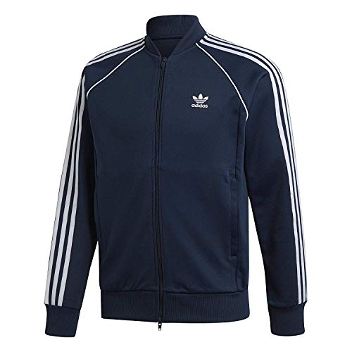 adidas Originals Men's Superstar Tracktop, Collegiate Navy, S