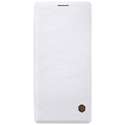 Samsung Galaxy Note 8 Case ,Samsung Galaxy Note 8 Synthetic Leather Case ,Opdenk- Nillkin Qin Ultra Thin Card Slot Smart Case Flip Leather Case Cover For Samsung Galaxy Note 8 (White) by OPdenk (Image #3)