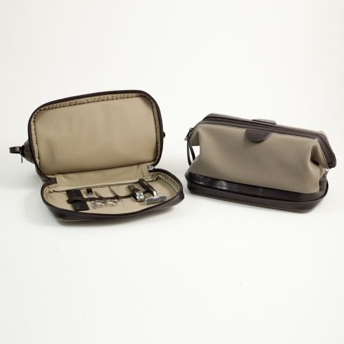 l Toiletry Dopp Bag with Manicure Set ()