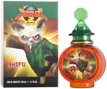 Dreamworks Kung Fu Panda 2 Eau de Toilette Spray for Kids, Shifu, 1.7 Ounce