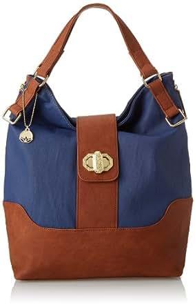 BIG BUDDHA Jcassia Shoulder Bag,Blue,One Size