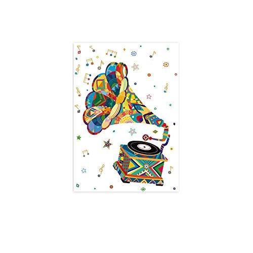 arguval 39708–Cartolina con motivo grammofono