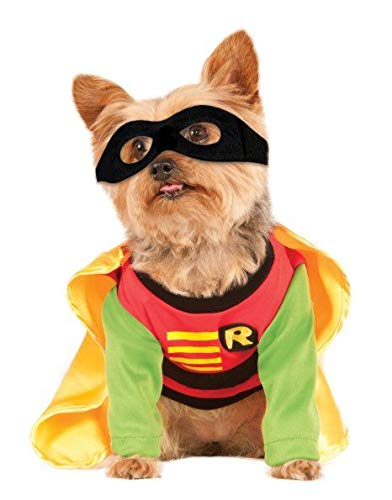 Rubies Pet Robin Costume Teen Titans Meduim (8 Pack)