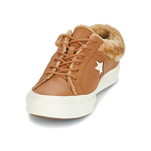 Leather 37 Converse Ox One Star Camel Mujeres Bajas Zapatillas Moda 6qwaEp