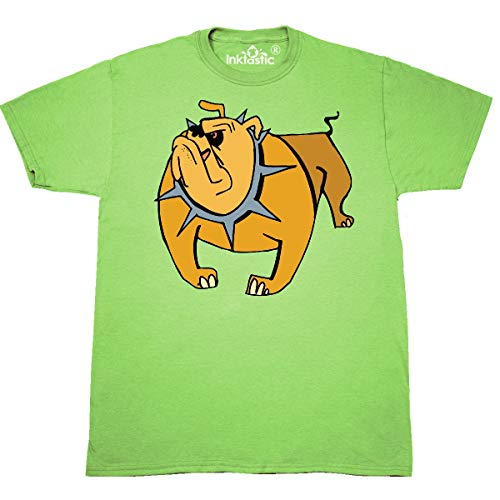 inktastic - Bull Dog T-Shirt X-Large Key Lime 999 ()