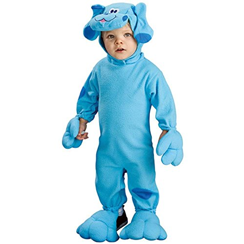 Rubie's Costumes Blue's Clues - Blue EZ-On Romper Infant Costume Infant (6-12 Months) Blue]()