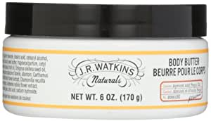J.R. Watkins Body Butter, Apricot and Pepqui Oil, 6 Ounce