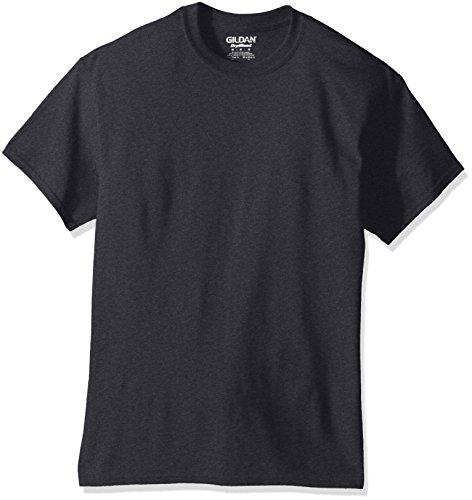 Gildan Men's DryBlend Classic T-Shirt, Dark Heather, - Polyester Cotton Blend