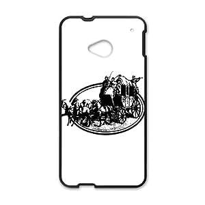 QQQO Coach design fashion cell phone case for HTC One M7
