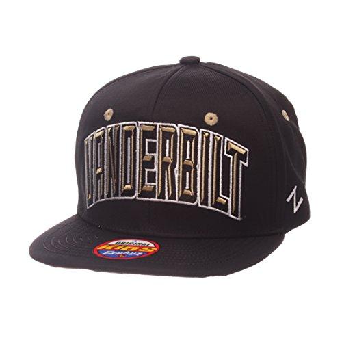 (ZHATS NCAA Vanderbilt Commodores Children Boys Youth TC Villain Snapback Hat, Youth Adjustable, Team Color)