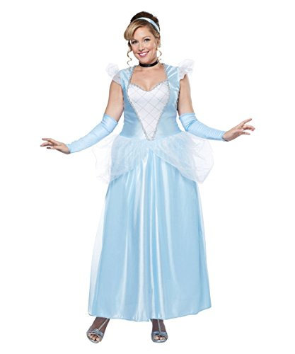 Cinderella Costumes Plus Size (Classic Cinderella Plus size Women Costume)