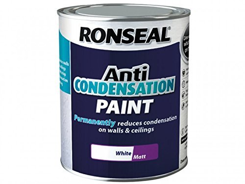 Ronseal ACPWM750 750 ml Anti-Condensation Matt Finish Paint - White by Ronseal