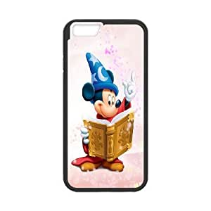iPhone6 Plus 5.5 inch Phone Case Black Disney Mickey Mouse Minnie Mouse WQ5RT7478737