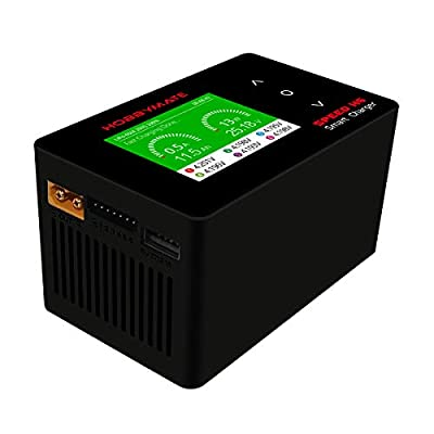 HOBBYMATE Speed H6 AC/DC Lipo Battery Charger, Fast Balance Charger 700W/ 26A: Industrial & Scientific