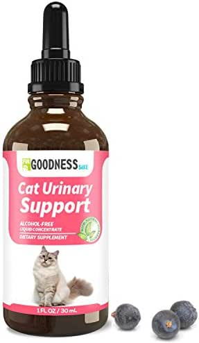 Fur Goodness Sake Best Natural Cat UTI Treatment - Holistic Cat UTI Remedy - Gentle Feline UTI Treatment for Urinary Tract Infection, UTI Treatment for Cats, Urinary Tract & Bladder Formula for Cats