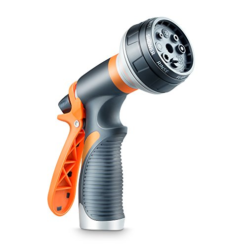 DCLYSI Garden Hose Nozzle,Water Hose Nozzle Heavy Duty High Pressure Garden Sprayer for Car Wash, Cleaning, Watering Lawn and Garden and Showering Dog & Pets