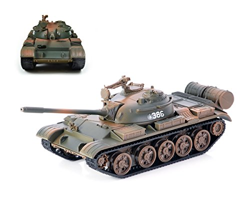 Ace Select Heavy Duty Military Russian Tank T55 1:56 Alloy Diecast Tank Model Toy Model Kit - Ideal Birthday Gift for Teen Boy, Army Friend