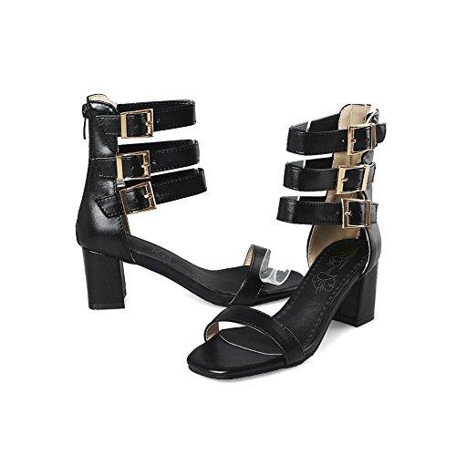 Tacco Comfort Sandali Stivali Nuovi Da C Estivi Di Open Alto Scarpe Donna Toe Romani Stivaletti wCnqIn1zx