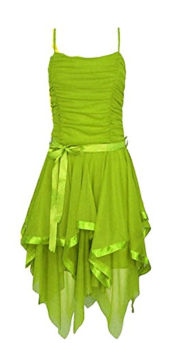 Taille Green Robe Sans Femme Manche Unique Rose Uni 21fashion YZTqzwfz