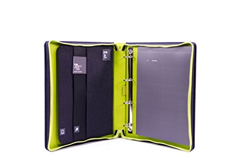 Nava Design Block Notes Holder Black/Green