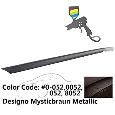 IKON MOTORSPORTS Trunk Spoiler Compatible With 2010-2016 Benz E-Class W212 | AMG Style Painted #0-052 052 8052 Designo Mysticbraun Metallic ABS Rear Wing: Automotive