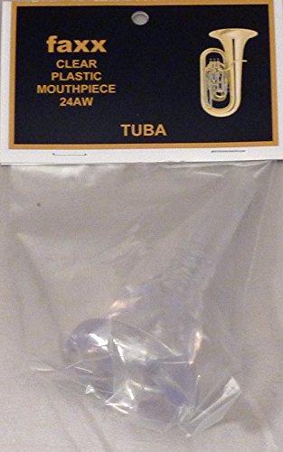 Faxx Clear Plastic Tuba Mouthpiece 24AW by Faxx