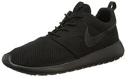 Nike Men's Roshe One Running Shoes, Blackblack, 8.5 M Us