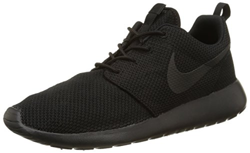 Nike Men's Roshe One Running Shoes, Black/Black, 13 M US