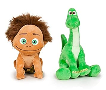 The Good Dinosaur - Pack 2 plush toy Quality super soft - Spot the child 5""