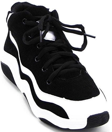 Entraînement De Tennis De Dev De Femmes Légères Mesh Sport Chaussures De Course Noir / Blanc-1