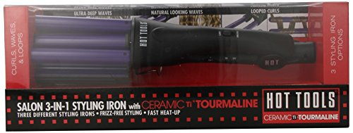 Hot Tools 2180 3-In-1 Styling Iron, Black