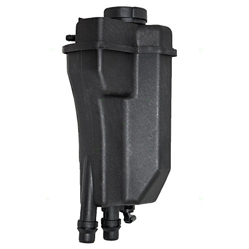 Coolant Overflow Tank Recovery Expansion Bottle Reservoir with Sensor and Cap Replacement for 99-03 BMW 5 Series 17111742231 ()