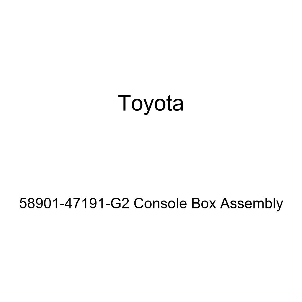 Toyota 58901-47191-G2 Console Box Assembly
