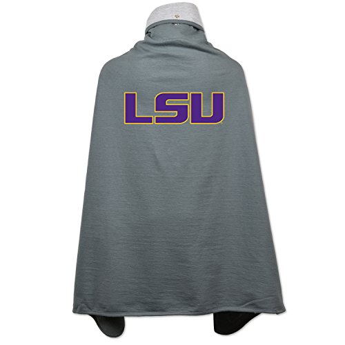 NCAA LSU Tigers Children Unisex Cape Drape, One Size, (Lsu Tigers Drapes)