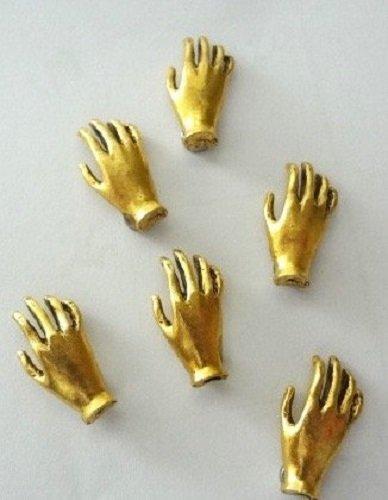 fridge magnet gold - 2