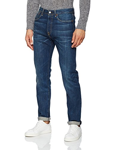 Levi's 501 Tapered, Jeans Homme Blu (The Night 78)