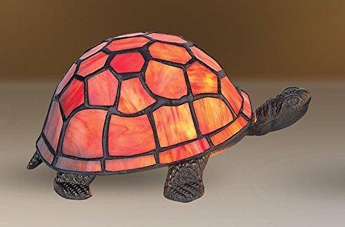 SALE! Beautiful Orange Tiffany Inspired Turtle / Tortoise ...