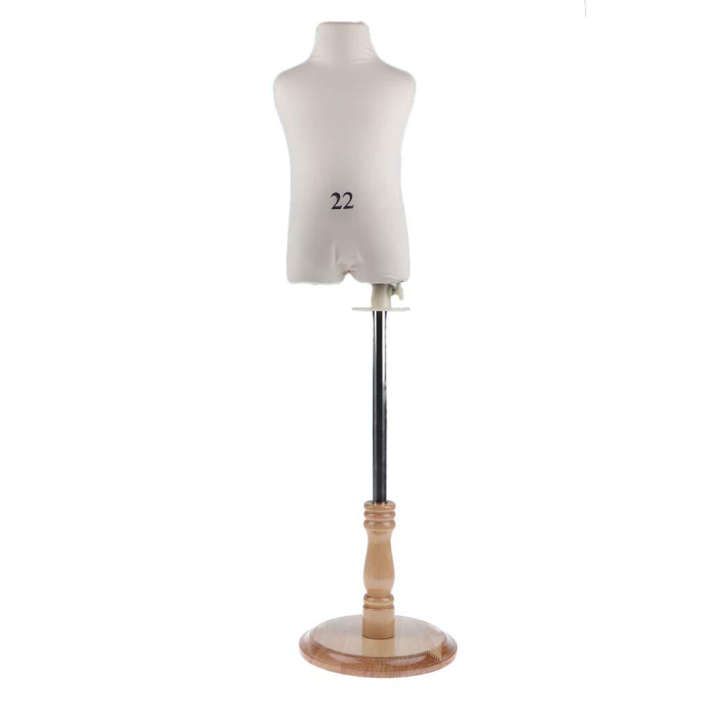 B Baosity Modelo de Cuerpo Maniqu/í para soporte de ropa mobiliario y accesorios decorativo de Tiendas de Ropa vestidos L