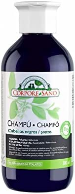 Champú Henna Palo Campeche Negro 300 ml de Corpore Sano