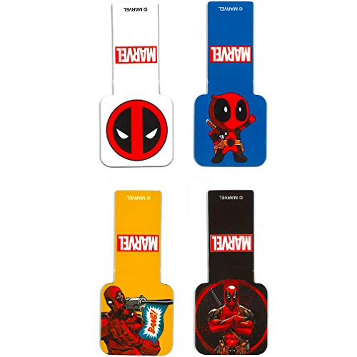 "Used, Ata-Boy Marvel Comics Deadpool Set of 4 1"" Magnetic for sale  Delivered anywhere in USA"